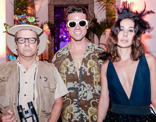 Vik Muniz, Beto Pacheco e Bia Rosa