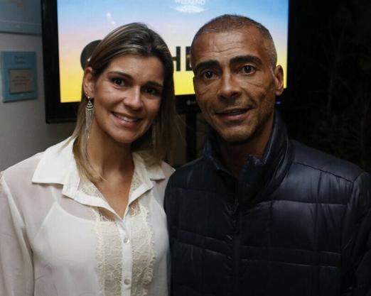 Érica Cyriaco e Romário