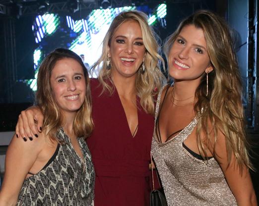 Adriana Ipanema, Ticiane Pinheiro e Valentina Rezende