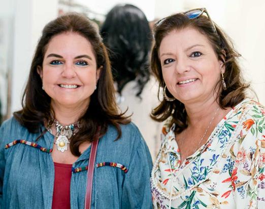 Amelinha Azeredo e Virginia Renha