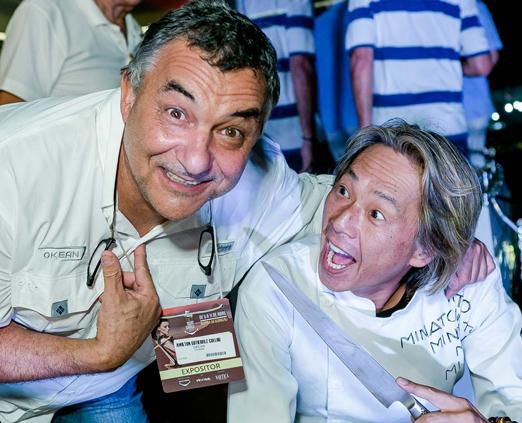 Amilton Gutierrez e Fabio Minato