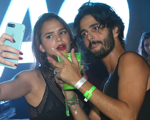 Bruna Marquezine e André Nicolau
