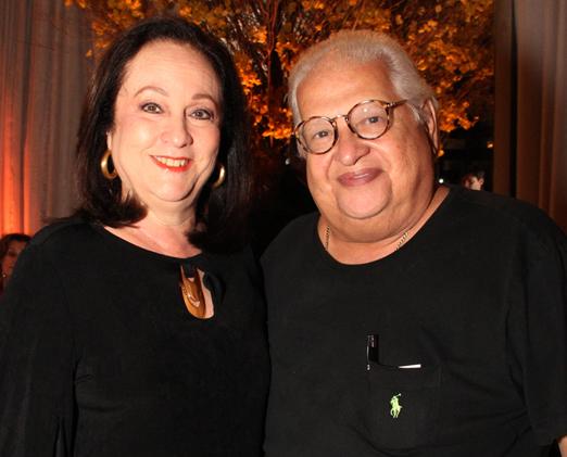 Carlos Alberto Serpa com sua amada Beth