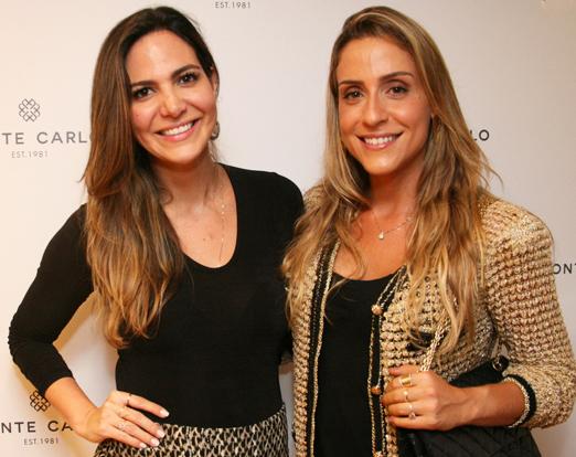 Carol Sampaio e Carol Buffara