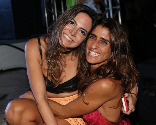 Carol Sampaio e Cynthia Howlett