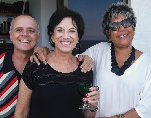 Chico Vartulli, Ligia Azevedo e Sonia Nery