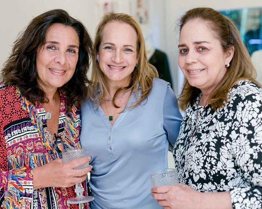 Christiana Malta, Monica Ferraz e Patricia Chami