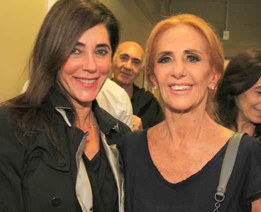 Christiane Torloni e Vera Lafer
