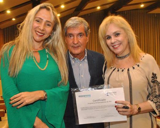 Claudia Cataldi, Sergio Costa e Silva e Marisa Araújo