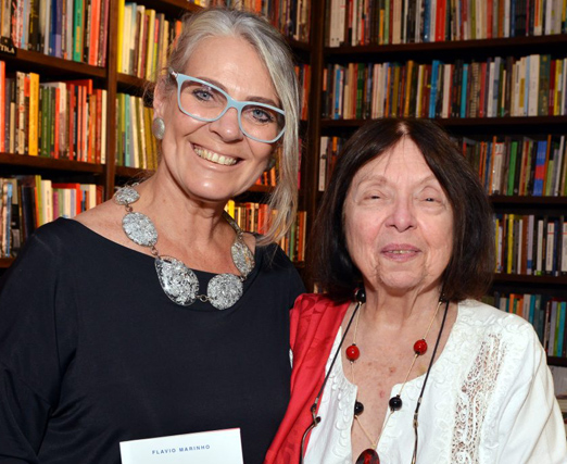 Cristina Oldemburg e Nélida Piñon