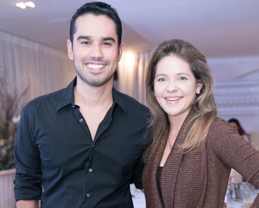 Cyro Hirano e Denise Barcelos