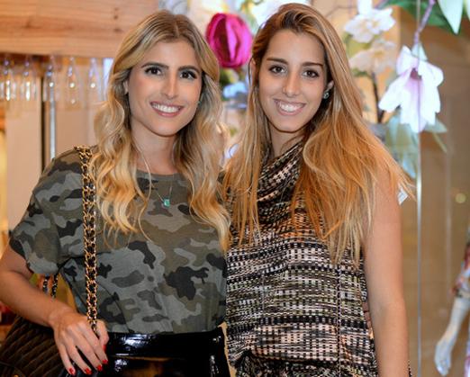 Dandynha Barbosa e Fernanda Di Biase