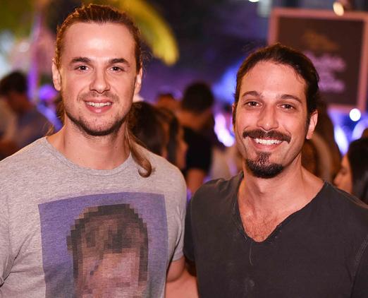 Daniel Erthal e Marco Antonio Gimenez