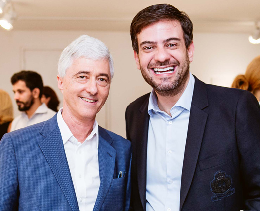 Daniel Sauer e Bruno Astuto