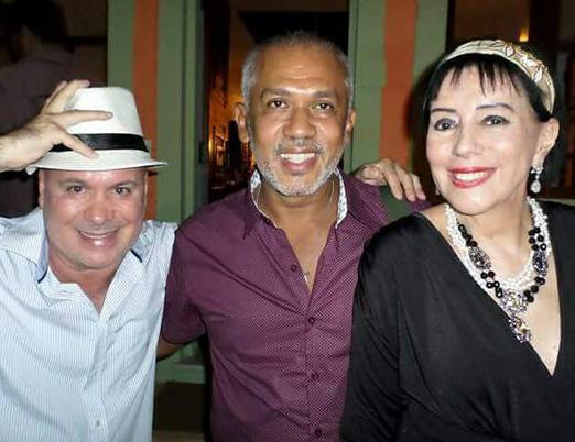 Eder Meneghine, Jô Santana e Yacy Nunes