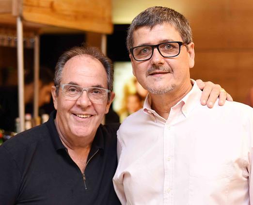 Edson Thebaldi e Arnaldo Bortolon