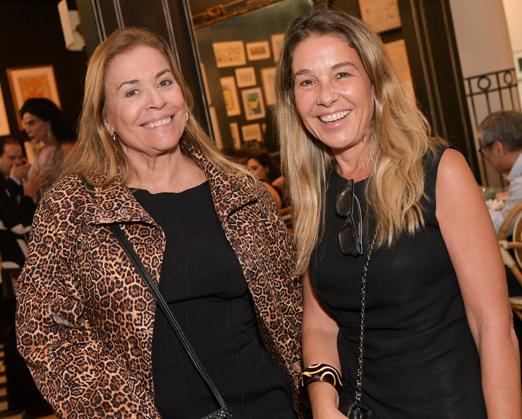 Esther Giobbi e Ana Maria Carvalho Pinto