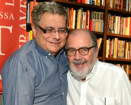 Flavio Marinho e Cacá Diégues