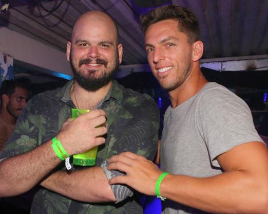 Guilherme Barros e Amaury Nunes