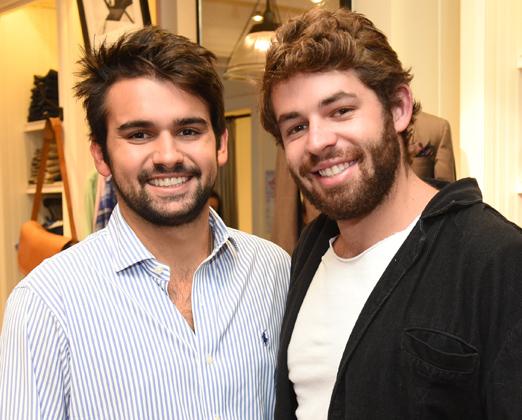 Guilherme Romanini e Bruno Filisola