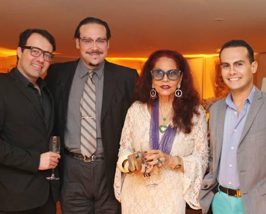 Gustavo Gonçalves, Diego Cosac, Tania Caldas e Pedro Henrique de Sousa