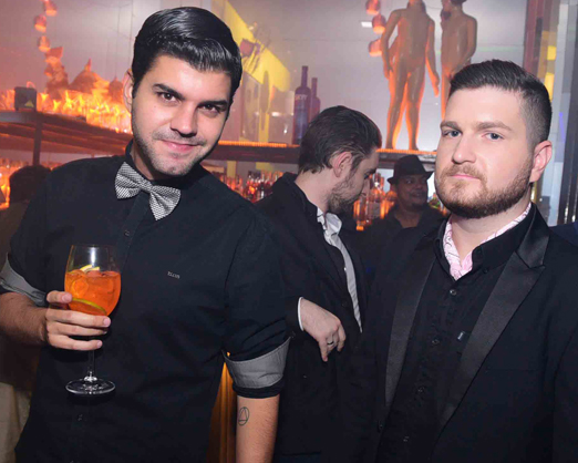 Gustavo Saab e Daniel Filho