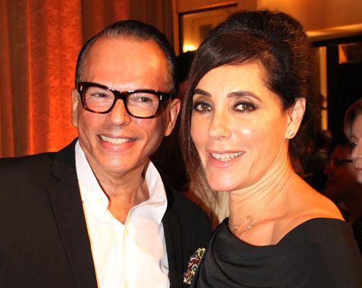 Heckel Verri e Christiane Torloni