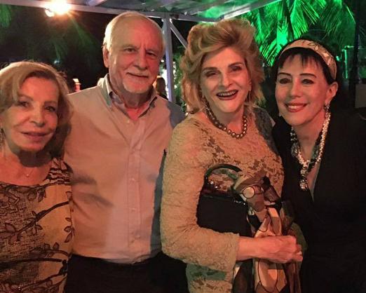 Ilka Bambirra, o casal Enrique e Maria Vitoria Riera e Yacy Nunes