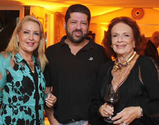 Isis Penido, Paulo Penido e Eliana Moura