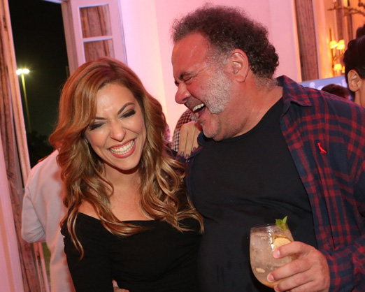Julia Rabello e Leo Jayme