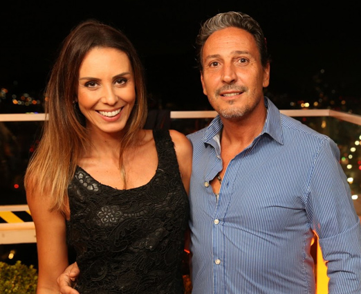 Karina Nunes e Gilberto Ruiz Vieira