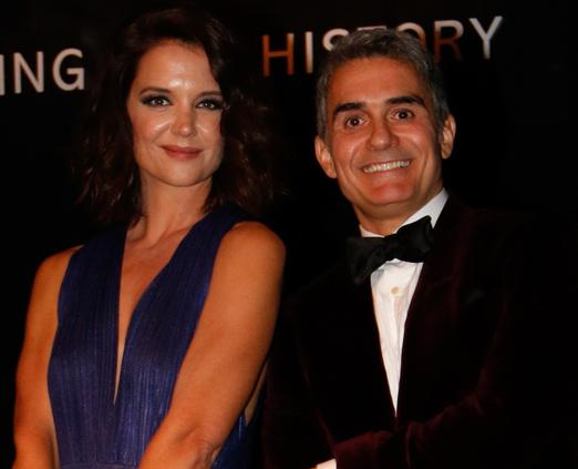 Katie Holmes e Felipe Diniz