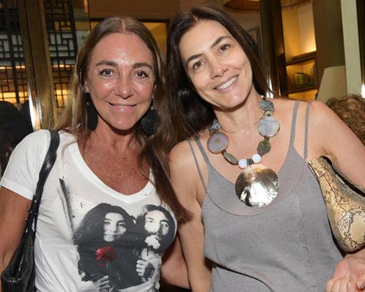 Lusete Curan e Heloisa Nogueira