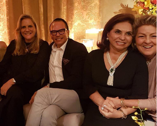 Maninha Barbosa, Heckel Verri, Cleuba Verri e Margareth Padilha