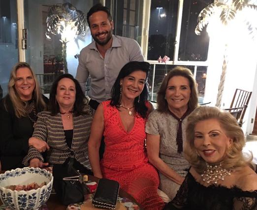 Marcelo Calero, Maninha Barbosa, Beth Serpa, Monica Clark, Ruth Niskier e Mariza Coser