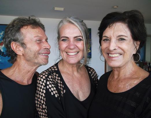 Marco Rodrigues, Cristina Oldemburg e Ligia Azevedo