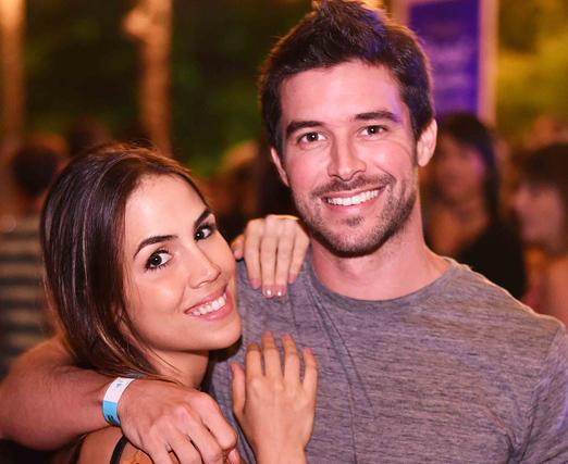 Pérola Faria e Bernardo Velasco