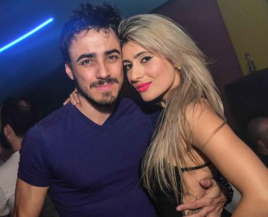 Pablo Weber e Camila Domingues