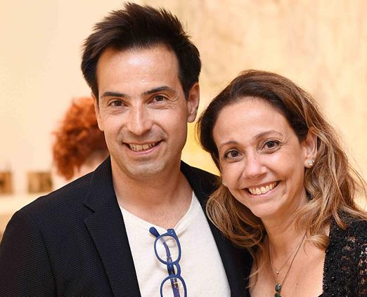 Paulo e Mylene Ouro Preto