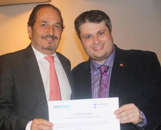 Philippe Seigle e Claudio André de Castro
