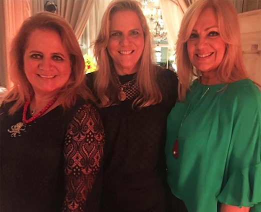 Renata Fraga, Maninha Barbosa e Alda Soares