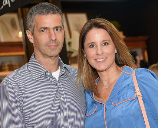 Romeu e Adriana Trussardi
