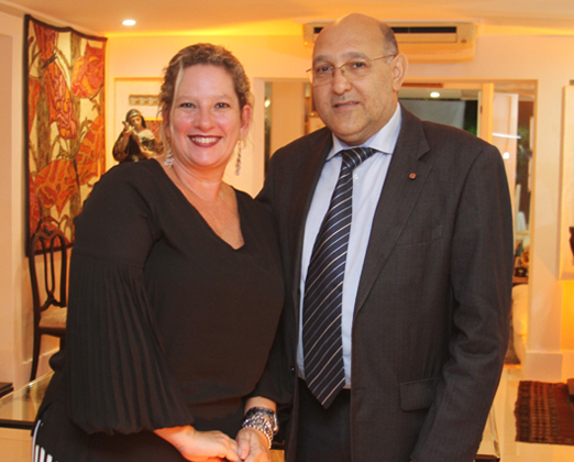 Sheila e Luiz Pugialli