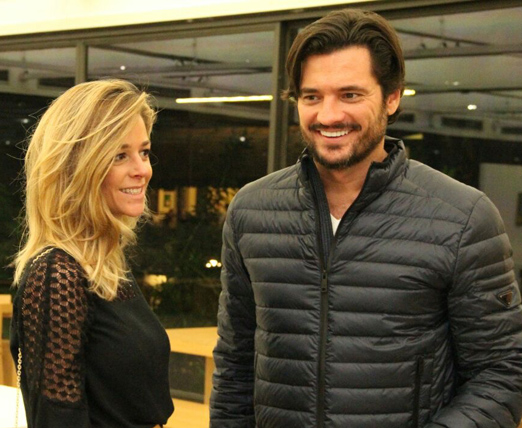 Tatiana Ventre e Felipe Barahona