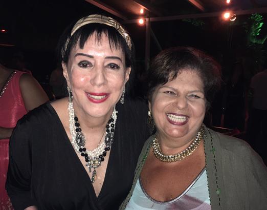 Yacy Nunes e Ana Bonelli Caldieri
