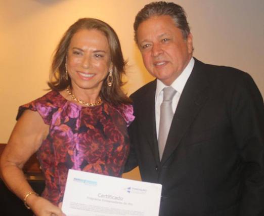 Yvonne Bezerra de Mello e Aloysito Teixeira