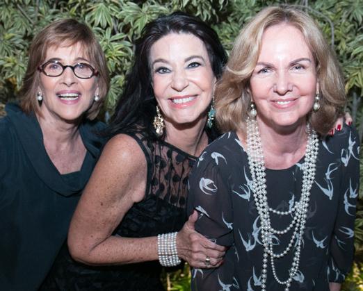 Alda Magro, Teresa Aczel e Beth Bragança