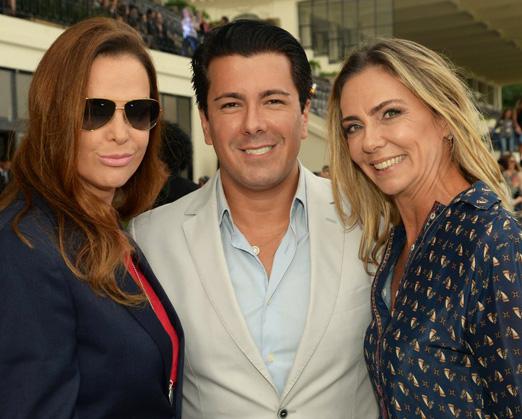 Alessandra Arnaud, André Ramos e Márcia Veríssimo