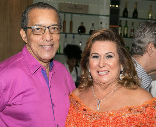 Amaro Leandro Barbosa e Theresa Macedo