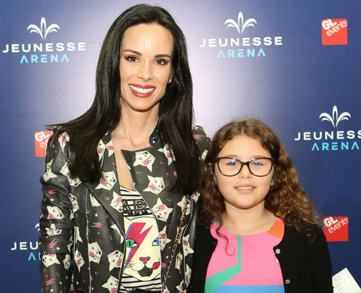 Ana Furtado e a filha Isabella